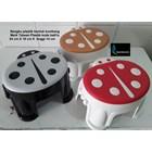 Kursi Bangku plastik model kumbang kecil Ba01S merk Taiwan 1