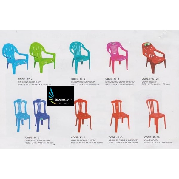 Neoplast brand lotus plastic chair