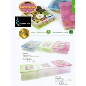 Dari Tempat kue donat plastik donatello merk Taiwan 0