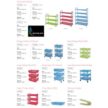 Multipurpose plastic rack brand maspion