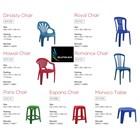 Plastic Chair Royal Chair brand Maspion 1