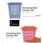 jual Keranjang plastik untuk pakaian baju kotor merk Diansari 1
