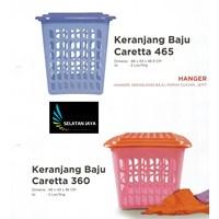 jual Keranjang plastik untuk pakaian baju kotor merk Diansari