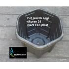 Pot terms of plastic 25 brands of eko 1
