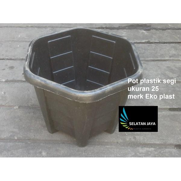 Pot terms of plastic 25 brands of eko