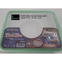 Produk Kotak makan plastik bento box RSC001 Taiwan
