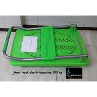 Hand pallet trolly plastik kapasitas 150 kg