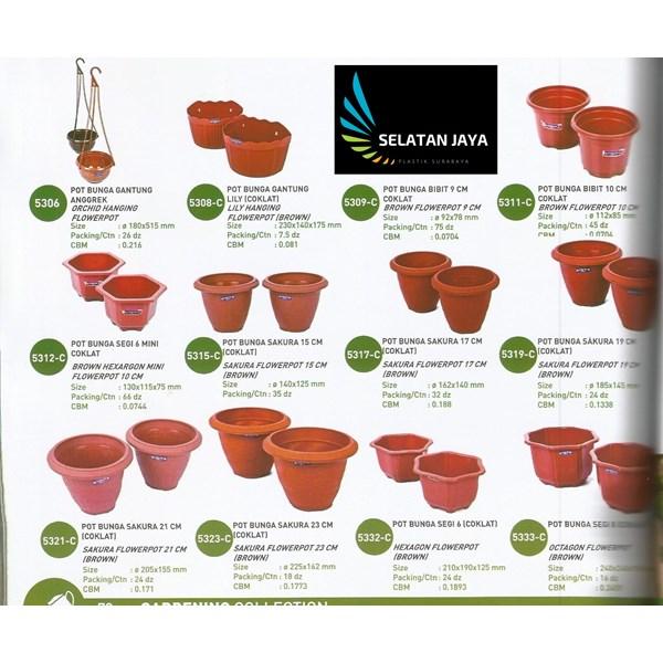 jual Pot plastik untuk tanaman bibit bunga merk lucky star