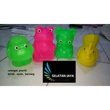 Piggy bank plastic cow gorilla chicken cheap price