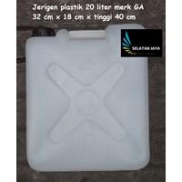 an Jerigen plastik air 20 liter merk GA harga murah