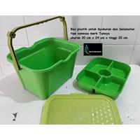 kotak makan Box plastik untuk syukuran selamatan vanessa tanaya