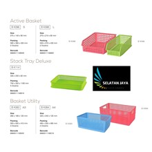 Aktive basket maspion plastic basket