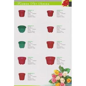 Jual Pot Bunga plastik bulat Merk pabrik Sunflower Harga Murah ... d95320f93b