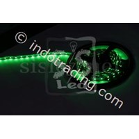 Lampu Strip 3528 Ip 33 Non Silicon Hiled Hijau 1