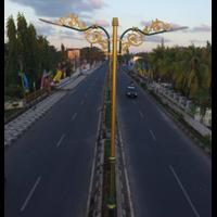 Pole of Classical Public Street Lighting