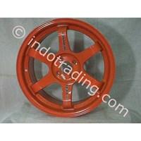 Velg Mobil Tokyo Orange Te37 R17 1