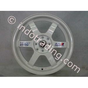 Velg Mobil TE Putih R16
