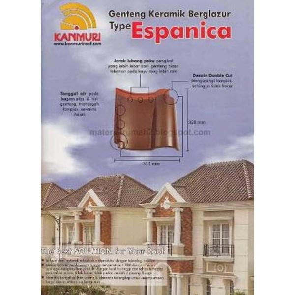 Kanmuri Espanica Ceramic Roof Tile