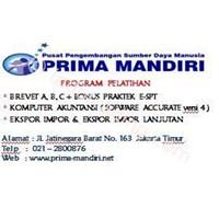 Kursus Pajak Brevet Ab&C By Ppsdm Prima Mandiri