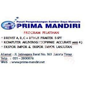 Kursus Pajak Brevet Ab&C By PT  Ppsdm Prima Mandiri