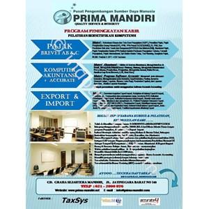 Pelatihan Dan Kursus Accurate By PT  Ppsdm Prima Mandiri
