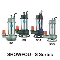 Pompa Submersible Showfou Stainless Type S-Series