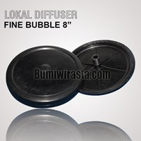 Disc Diffuser Fine Bubble 8""