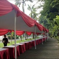 Tenda Plafon Merah