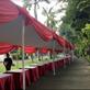 Tenda Pesta Plafon Merah