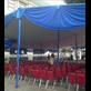 Tenda Pesta Plafon Biru