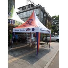 Tenda Kerucut 3 x 3 Digital Printing