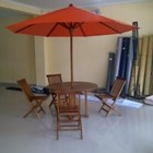 Teak Umbrella Cafe 1
