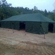 Tenda Pleton Pengungsian