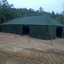 Platoon 3 tent