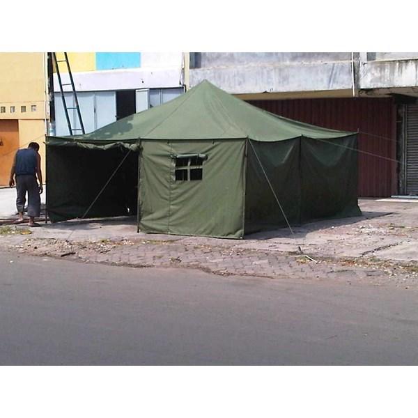 Tenda Pleton ukuran 6 M x 14 M
