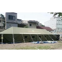 Platoon Command Post refugee tent 1