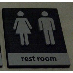 Dari Sign Toilet 0