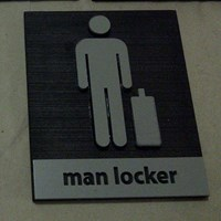 Jual Sign Loker Male