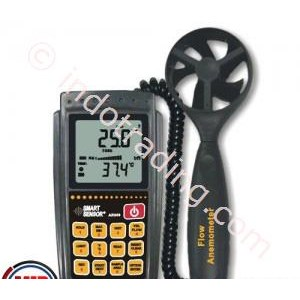 Smart Sensor Ar856 Air Flow Anemometer Infrared