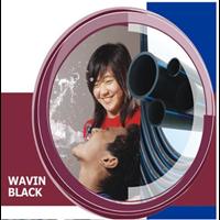 Pipa Wavin Black 1