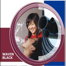 Pipa Wavin Black