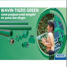 Pipa Wavin Tigris Green