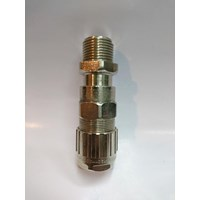 Cable gland hawke brass nickel plated 501-453 RAC M20
