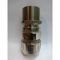 Cable Gland Hawke Brass Nickel Plated 501/453/RAC/B/1