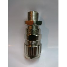 Cable Gland Hawke Brass Nickel Plated 501-453 RAC-A M20