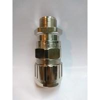 Cable gland hawke brass nickel plated 501-453 RAC-B M25