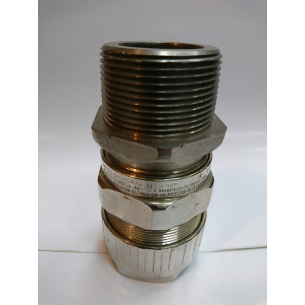 "Cable Gland Hawke Brass Nickel Plated 501/453/RAC/C2/11/2"" NPT"