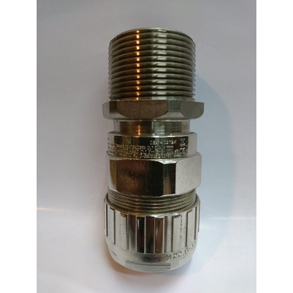 "Cable Gland Hawke Brass Nickel Plated 501/453/RAC/C/ 11/4"" NPT (C C2)"