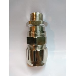 Cable Gland Hawke Brass Nickel Plated 501/453/RAC/B/M25