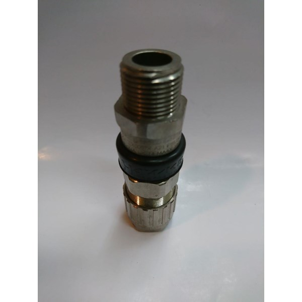 "Cable Gland Hawke Brass Nickel Plated 501/453/RAC/UNIVERSAL 1/2"" NPT"